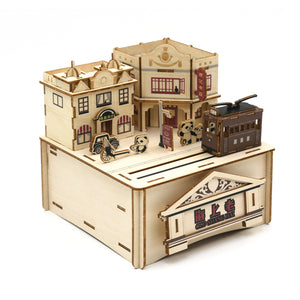 [JIGZLE Wooden Puzzle]<br>Old Shanghai Musical Box