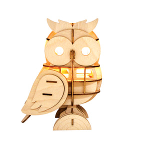 [JIGZLE Home]<br>Owl Table Lamp