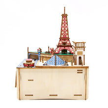 Load image into Gallery viewer, [JIGZLE Wooden Puzzle]<br>Paris Musical Box