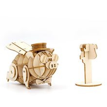Load image into Gallery viewer, [JIGZLE Wooden Puzzle]<br>Pig