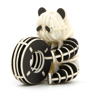 [JIGZLE Paper Puzzle]<br>Playing Panda Cub (Color Ver.)