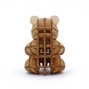 [JIGZLE Wooden Puzzle]<br>Playing Panda Cub