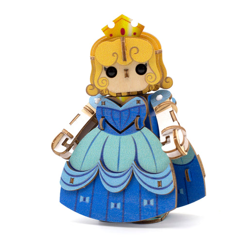 [JIGZLE Wooden Puzzle]<br>Princess