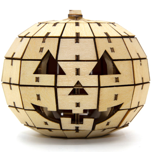 [JIGZLE Wooden Puzzle]<br>Pumpkin Candy Box