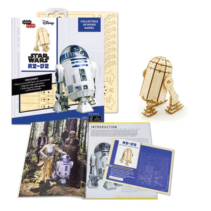 [INCREDIBUILDS Wooden Puzzle]<br>Star Wars - R2D2