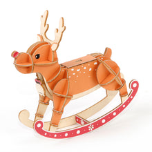 Load image into Gallery viewer, [JIGZLE Wooden Puzzle]<br>Reindeer (Balance Game)