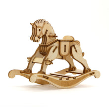 Load image into Gallery viewer, [JIGZLE Wooden Puzzle]<br>Rocking Horse