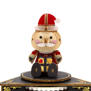 [JIGZLE Wooden Puzzle]<br>Santa Claus Musical Box