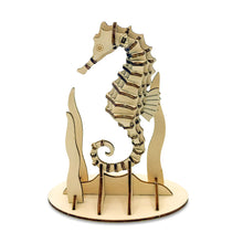 Load image into Gallery viewer, [JIGZLE Wooden Puzzle]<br>Sea Horse