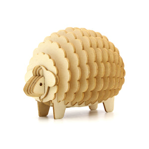 [JIGZLE Wooden Puzzle]<br>Sheep Memo Stand