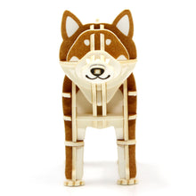 Load image into Gallery viewer, [JIGZLE Paper Puzzle]<br>Shiba Dog (Color Ver.)