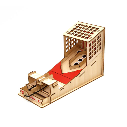[JIGZLE Wooden Puzzle]<br>Skee Ball