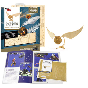 [ INCREDIBUILDS Wooden Puzzle]<br>Harry Potter - Golden Snitch