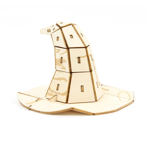 [ INCREDIBUILDS Wooden Puzzle]<br>Harry Potter - Sorting Hat