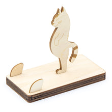 Load image into Gallery viewer, [JIGZLE Wooden Puzzle]<br>Cat Mobile phone stand Series