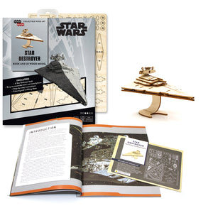 [INCREDIBUILDS Wooden Puzzle]<br>Star Wars - Star Destroyer