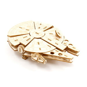 [INCREDIBUILDS Wooden Puzzle]<br>Star Wars - Millennium Falcon