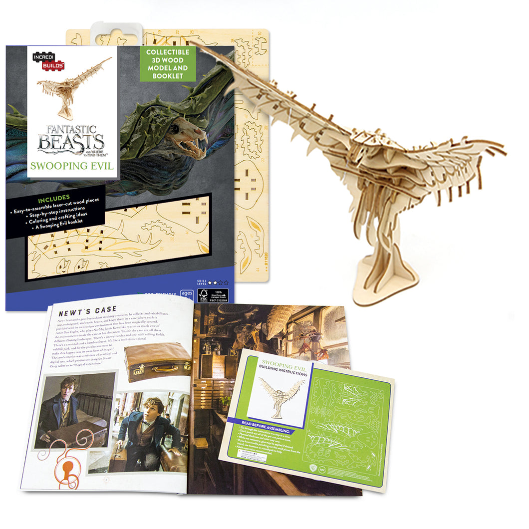 [INCREDIBUILDS Wooden Puzzle]<br>Fantastic Beasts - Swooping Evil