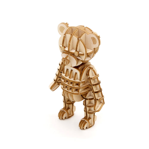 [JIGZLE Wooden Puzzle]<br>Teddy Bear