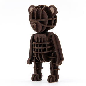 [JIGZLE Paper Puzzle]<br>Teddy Bear (Brown)