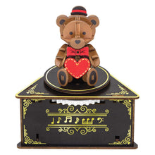 Load image into Gallery viewer, [JIGZLE Wooden Puzzle]<br>Teddy Bear Musical Box