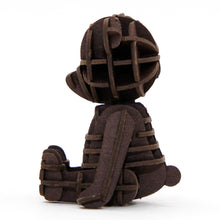 Load image into Gallery viewer, [JIGZLE Paper Puzzle]<br>Teddy Bear (Brown)