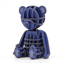Load image into Gallery viewer, [JIGZLE Paper Puzzle]<br>Teddy Bear (Blue)