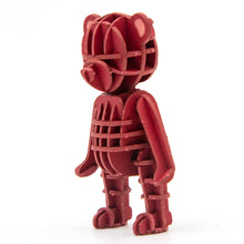 Load image into Gallery viewer, [JIGZLE Paper Puzzle]<br>Teddy Bear (Red)