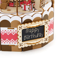 Load image into Gallery viewer, [JIGZLE Wooden Puzzle]<br>The Cake Party Musical Box