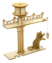 Load image into Gallery viewer, [JIGZLE Paper + Plywood Puzzle]<br>Cat Playground with Standing Cat