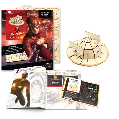 [INCREDIBUILDS Wooden Puzzle]<br>The Flash