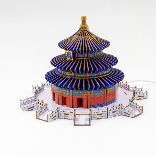 [JIGZLE Wooden Puzzle]<br>The Temple of Heaven