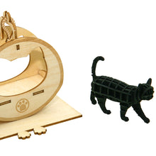 Load image into Gallery viewer, [JIGZLE Paper + Plywood Puzzle]<br>Cat Playground with Walking Cat