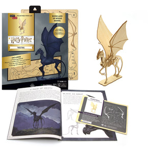 [ INCREDIBUILDS Wooden Puzzle]<br>Harry Potter - Thestral