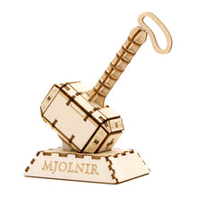 Load image into Gallery viewer, [INCREDIBUILDS Wooden Puzzle]<br>Thor Mjolnir