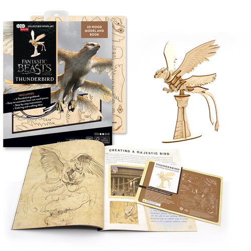 [ INCREDIBUILDS Wooden Puzzle]<br>Fantastic Beasts - Thunderbird
