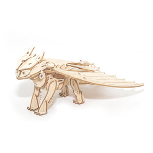 [ INCREDIBUILDS Wooden Puzzle]<br>Toothless Dragon
