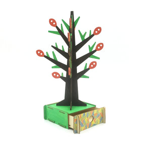 [JIGZLE Wooden Puzzle]<br>Tree for Accessory