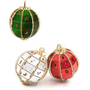 [JIGZLE Wooden Puzzle]<br>Christmas Ornaments Box Set (3 in one)