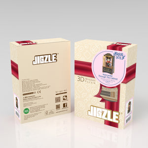 [JIGZLE Wooden Puzzle]<br>Nutcracker Through The Cabinet Musical Box