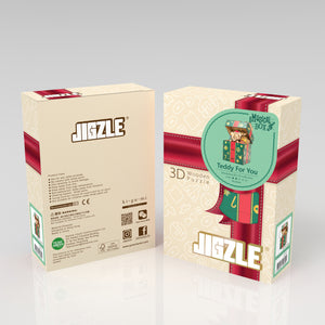 [JIGZLE Wooden Puzzle]<br>Teddy For You Musical Box