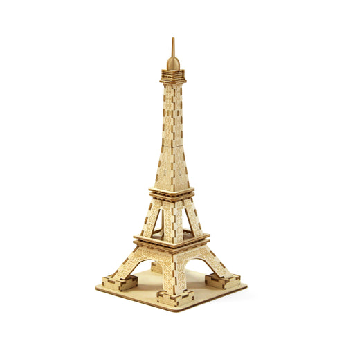 [JIGZLE Wooden Puzzle]<br>Eiffel Tower (Small)