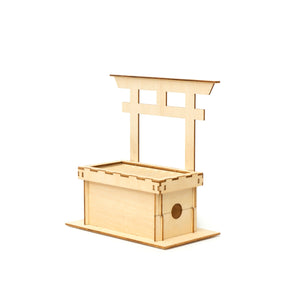 [JIGZLE Wooden Puzzle]<br>Offertory Box Bank