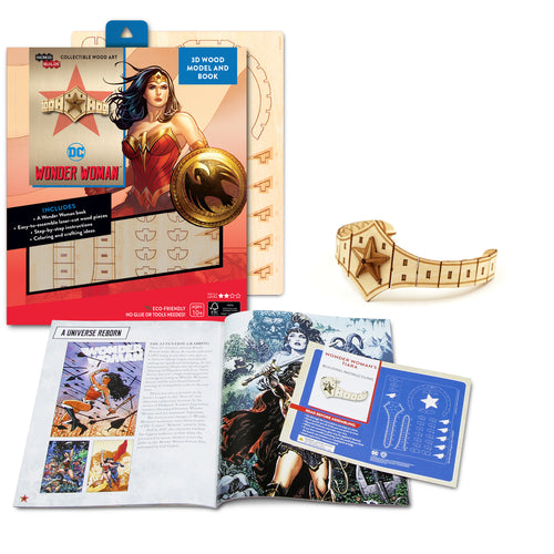 [INCREDIBUILDS Wooden Puzzle]<br>Wonder Woman