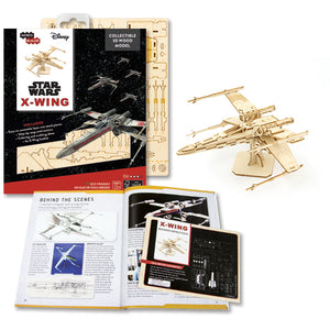[INCREDIBUILDS Wooden Puzzle]<br>Star Wars - X-Wing Kit+