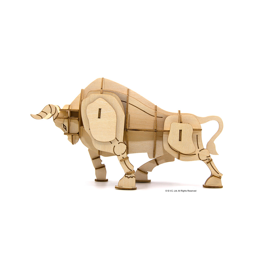 [JIGZLE Wooden Puzzle]<br>Year Of The Ox - Large