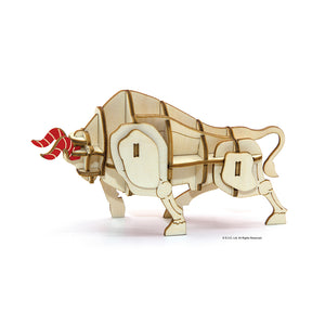 [JIGZLE Wooden Puzzle]<br>Year Of The Ox - Small
