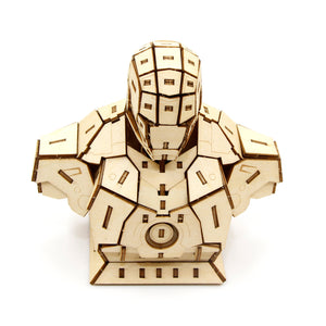 [INCREDIBUILDS Wooden Puzzle]<br>Ironman