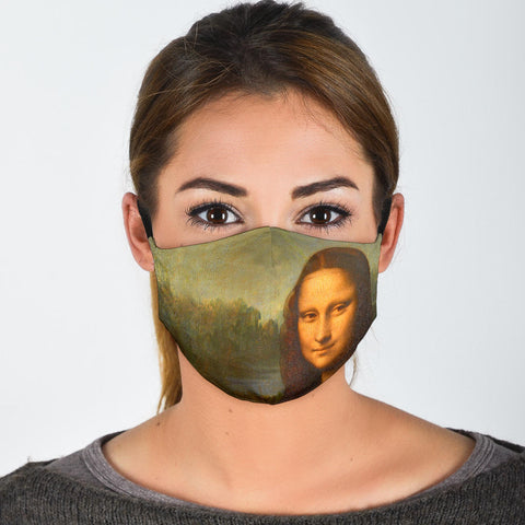 FILTER MASK The Mona Lisa Protective Filter Mask (Includes 2 PM2.5 Filters)