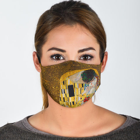 FILTER MASK Klimt's The Kiss Protective Filter Mask (Includes 2 PM2.5 Filters)